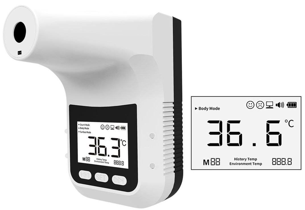 Temperature Screening, Forhead Thermometer, Non-contact Thermometer